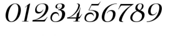 Pauline Didone Regular Italic Font OTHER CHARS