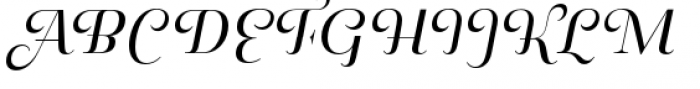 Pauline Didone Regular Italic Font UPPERCASE