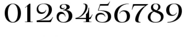 Pauline Didone Regular Font OTHER CHARS