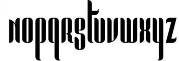 Pandora Display font 1 Font LOWERCASE