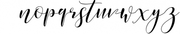 paradise calligraphy modern Font LOWERCASE