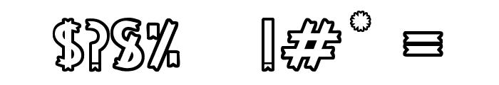PALO SANTO Font OTHER CHARS