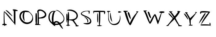 PAN y VINO Font UPPERCASE