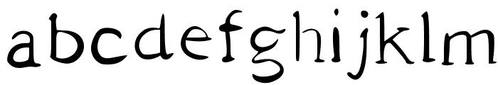PAN y VINO Font LOWERCASE