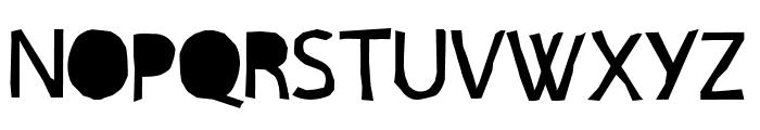 PAPERCUT' CRE Font UPPERCASE