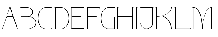 PARINOCK Font UPPERCASE