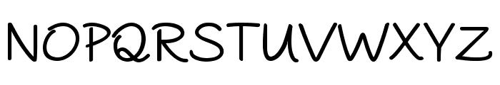 PAROLE Script Bold Demo Font UPPERCASE