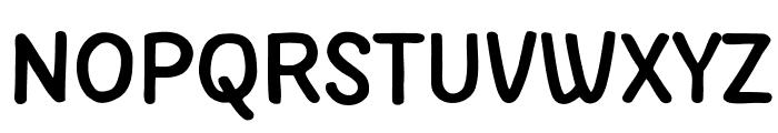 PApierSans-Bold Font UPPERCASE