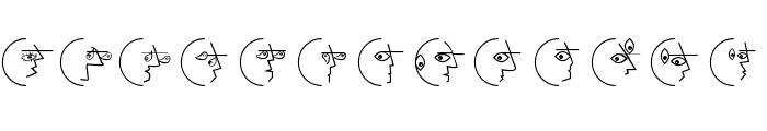 PablosChildren Font UPPERCASE