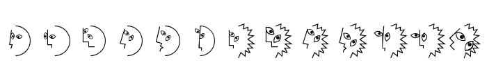 PablosChildren Font LOWERCASE