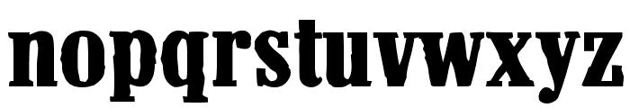 Pacamac Font UPPERCASE