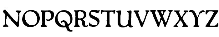 Packard Antique Bold Font UPPERCASE