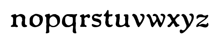 Packard Antique Bold Font LOWERCASE