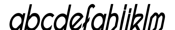 Pacotillenarrow regularital Font LOWERCASE