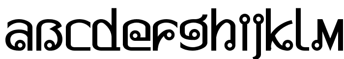Pad Thai Font LOWERCASE