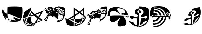 PadBats Font OTHER CHARS