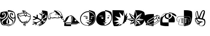 PadBats Font LOWERCASE