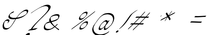 Pada Font OTHER CHARS