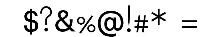 Padauk Font OTHER CHARS