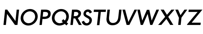 Paddington Italic Font UPPERCASE