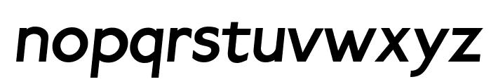 Paddington Italic Font LOWERCASE
