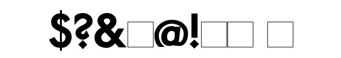 PaddingtonSC Bold Font OTHER CHARS
