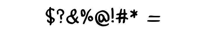 Paddis Handwritten 4.3 Medium Font OTHER CHARS