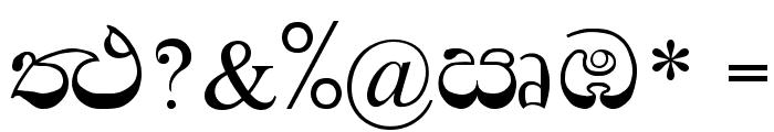 Padma Font OTHER CHARS