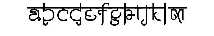 Padmashri Font LOWERCASE