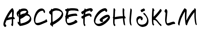 Paete Round Font LOWERCASE