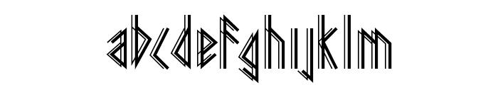 Pagan Winter Font LOWERCASE