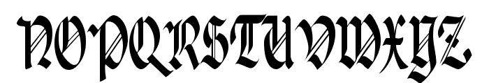 Paganini Narrow Font UPPERCASE