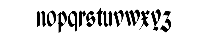 Paganini Narrow Font LOWERCASE