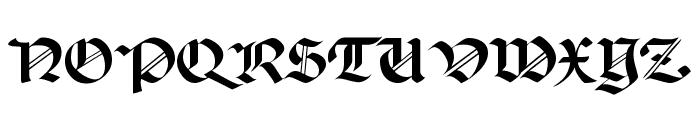 Paganini SemiBold Font UPPERCASE