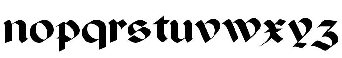 Paganini SemiBold Font LOWERCASE