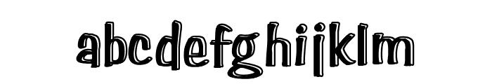 Paghetti Font LOWERCASE