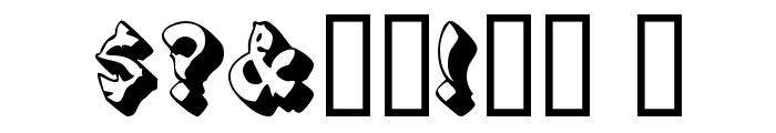 PagodaSCapsSSK Font OTHER CHARS