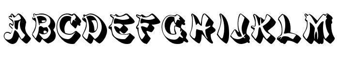 PagodaSCapsSSK Font UPPERCASE