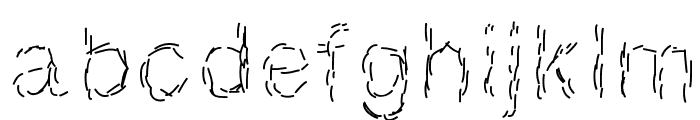 Paille Font LOWERCASE