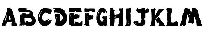 Paint  Normal Font UPPERCASE