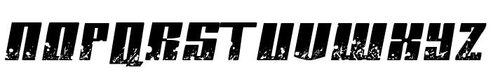 Paint it black Italic Font UPPERCASE