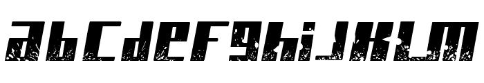Paint it black Italic Font LOWERCASE