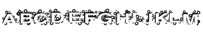 PaintBalls Font UPPERCASE