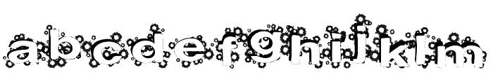PaintBalls Font LOWERCASE