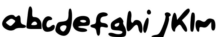 PaintLetters Font LOWERCASE