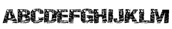 PaintScratch Font UPPERCASE