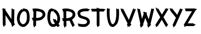 Painter Decorator Font UPPERCASE