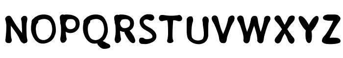 PajamaPantsBold Font UPPERCASE