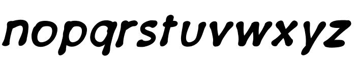 PajamaPantsBoldItalic Font LOWERCASE