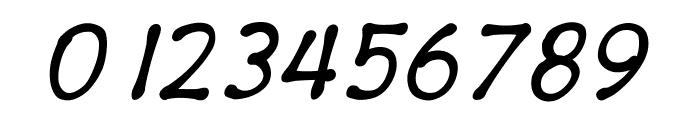 PajamaPantsItalic Font OTHER CHARS